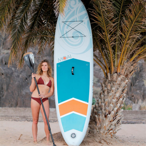 """Buy the MOAI 10'6"""" All Rounder Inflatable Paddle Board"""