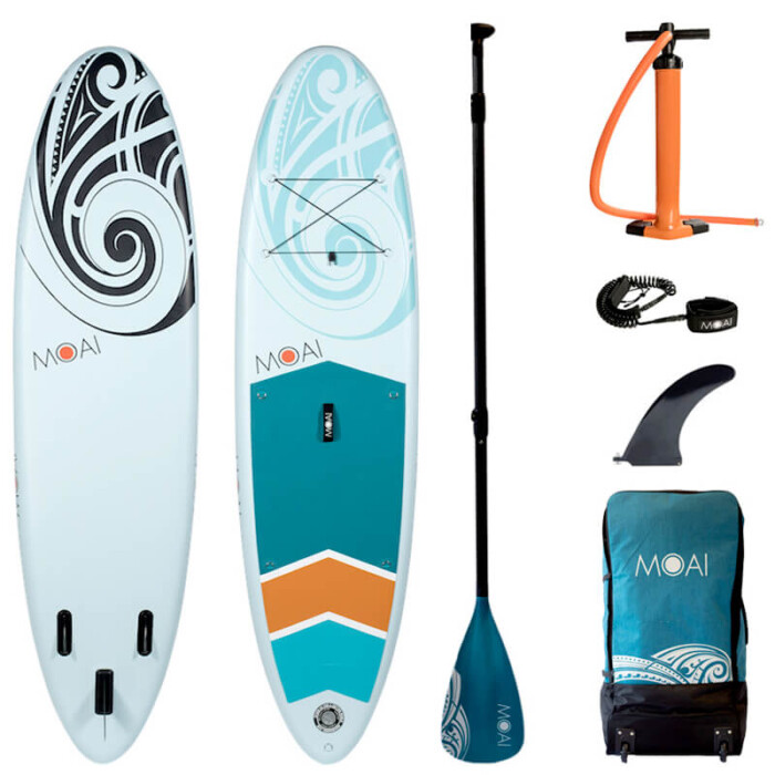 "Buy MOAI 10'6"" Inflatable SUP All Round Stand Up Paddle Boards Ireland"