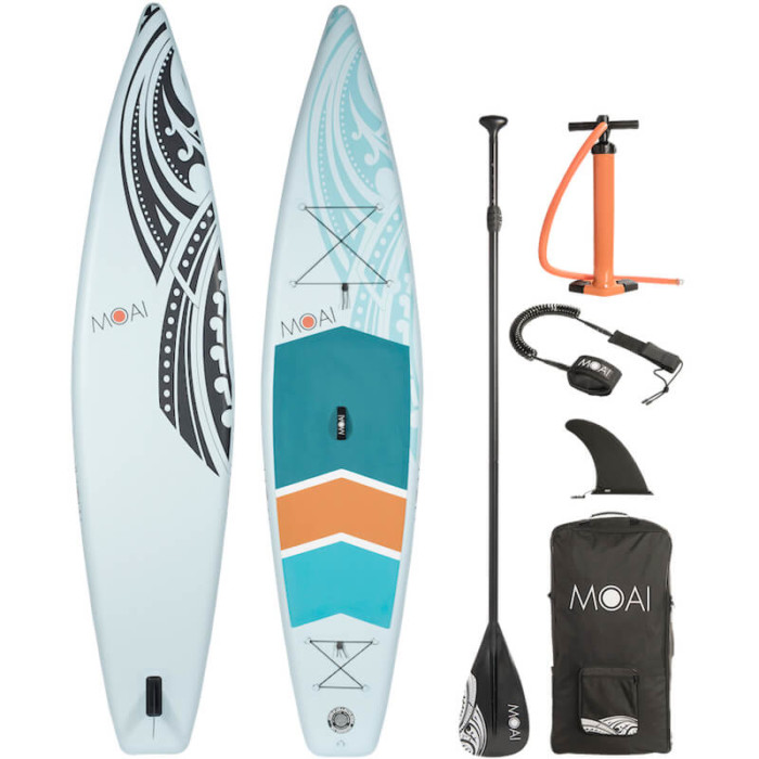 "Buy the MOAI 12'6"" Touring Inflatable Paddle Board"