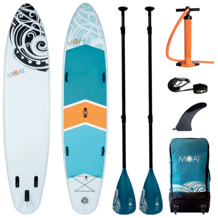 "Buy MOAI 12'4"" Inflatable SUP All Round Stand Up Paddle Boards Ireland"