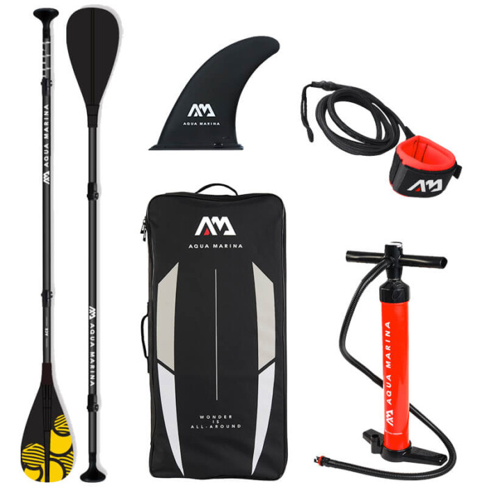 Aqua Marina SUP Included Equipment for Vibrant Stand Up Paddle Boards - Buy Online in Ireland