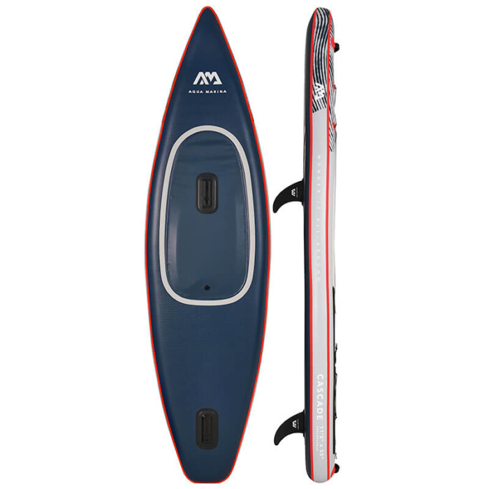 "Aqua Marina CASCADE 11'2"" Inflatable Kayak Stand Up Paddle Board Hybrid - Buy Online in Ireland"