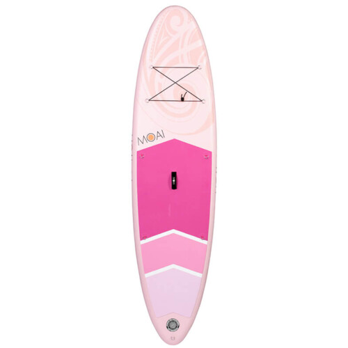 """Buy MOAI 10'6"""" Pink Women's Series Inflatable SUP All Round Stand Up Paddle Boards Ireland"""