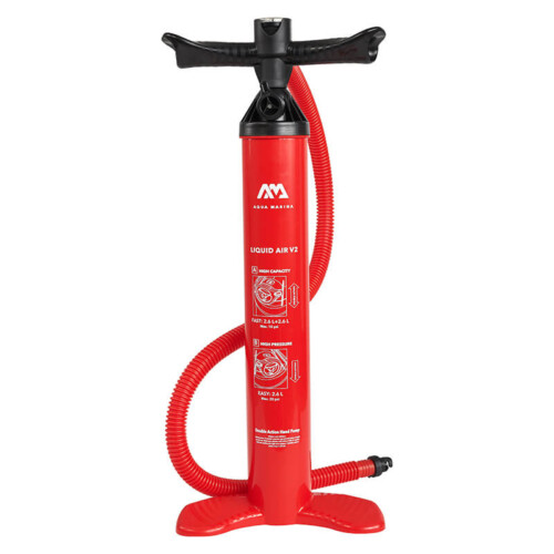 Aqua Marina Double Action Pump Liquid Air V2 for Stand Up Paddle Boards - Buy Online in Ireland